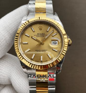 Rolex DateJust 41 126333 904L Siyah Kadran Oyster Kordon VS3235 ETA