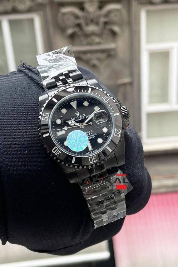rolex submariner siyah kasa